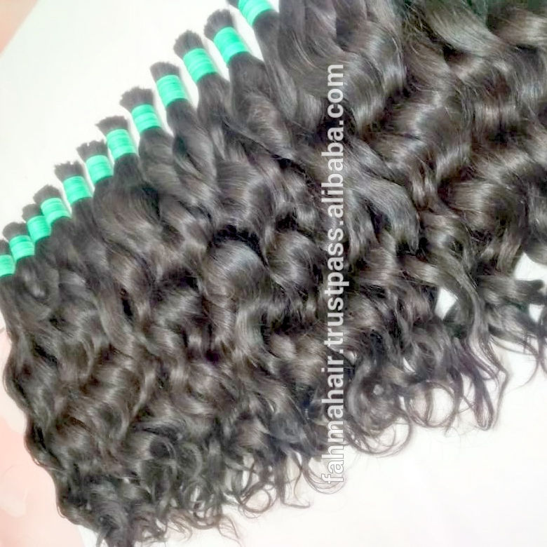 HOT SALE HUMAN REMY HAIR PURE VIRGIN HAIR BULK WAVY WHOLESALE MANUFACTURE PRICE