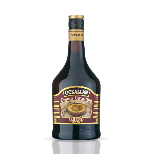 Spanish Ockallan Crema Catalana Alcohol Liqueur at Least Price