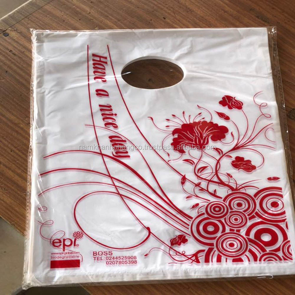 D2W biodégradable shopping sac en plastique
