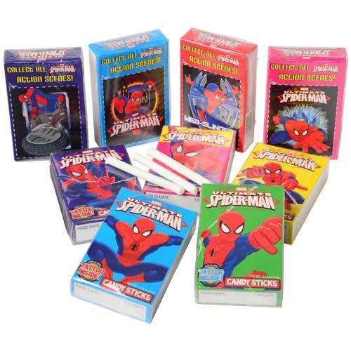 SPIDERMAN CANDY STICKS/30-PC #CA441