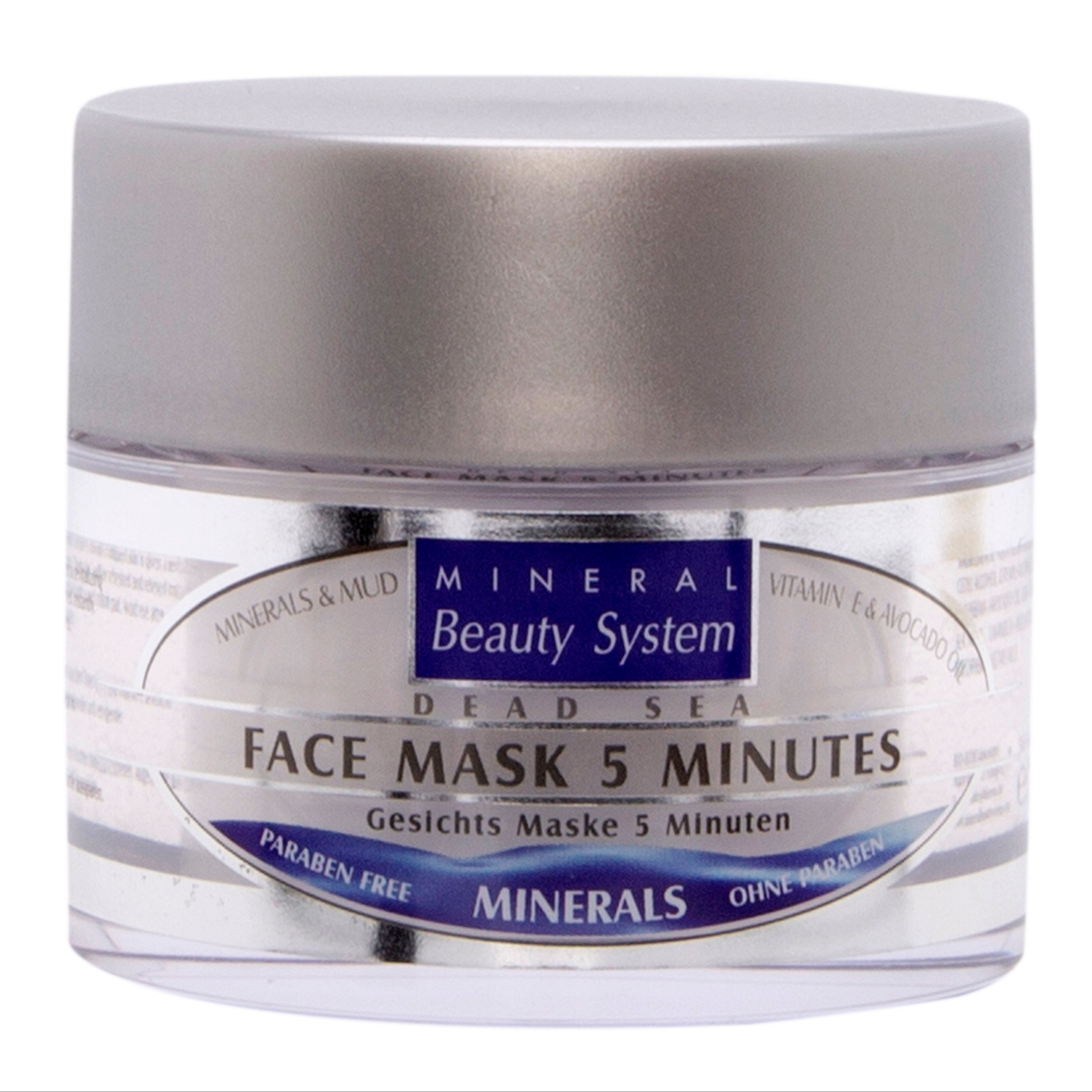 Classic Skin Care Face Mask 5 Minutes Anti Stress for all skin types - Dead Dead Sea Cosmetics