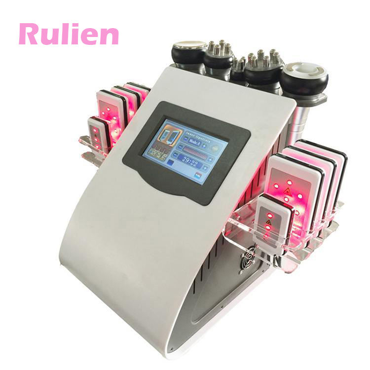 6 in 1 cheapest price for cavi-lipo ultrasound cavitation/40K ultrasonic cavitation slimming machine