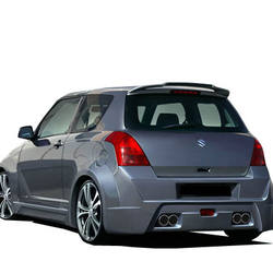 BODY KIT REAR BUMPER LIP FOR SUZUKI SWIFT 2005