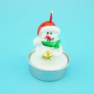Christmas Snowman Wax Candles Wholesale