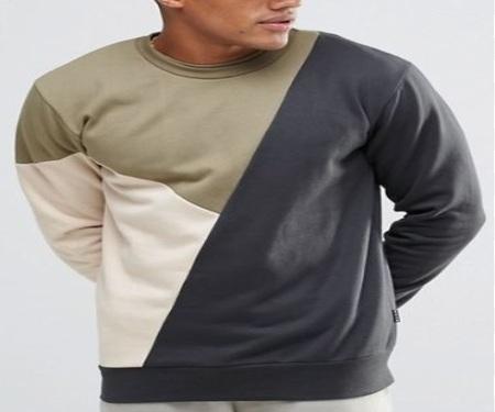 Gran sudadera Londres BL Jumper pullover cuello alto Camiseta larga en lana <span class=keywords><strong>Terry</strong></span> francés