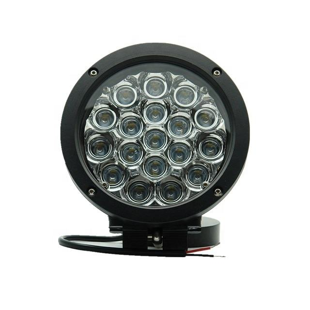 auto electrical system 7inch round new automotive led light spot led work truck light
