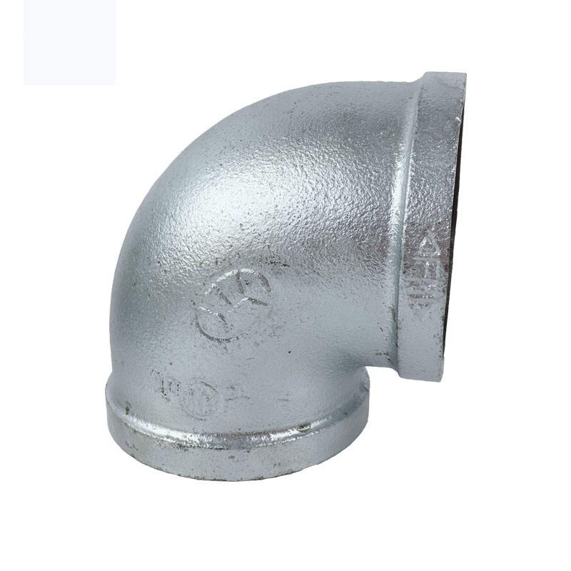galvanized Malleable iron pipe fitting 90 degree elbow