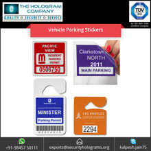 Parking Permit Stickers for Windshields and Windows
