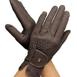 Riding Gloves Made of Aniline Leather