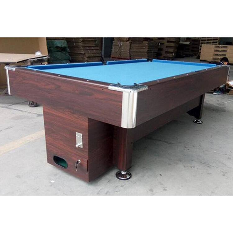 SZX 7ft 8ft 9ft Goedkope manual coin operated biljart pool tafels te koop china