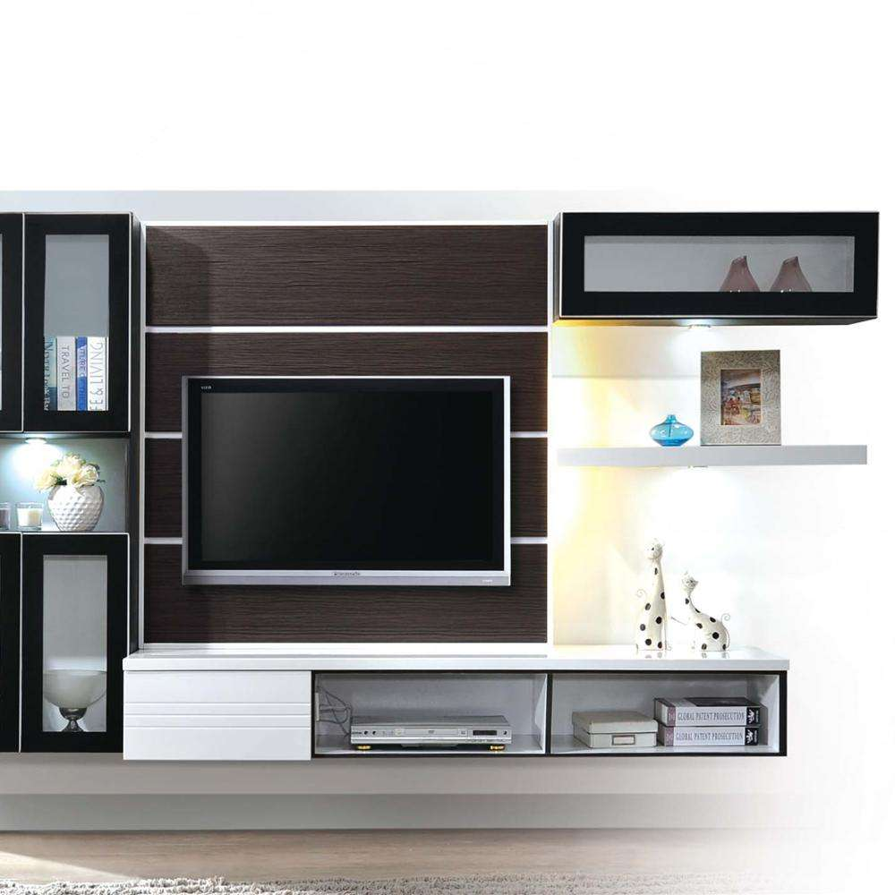 Wall Mounting Tv Console With Display