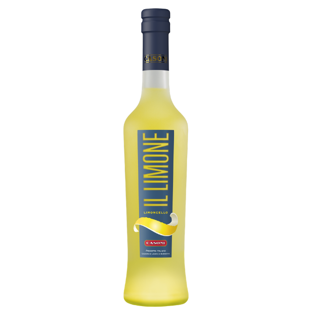 Italian with peels of I.G.P. Sorrento Lemons liqueur limoncello