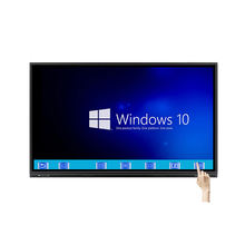 "65"" OPS all in one computer smart LED interactive touch screen monitor"