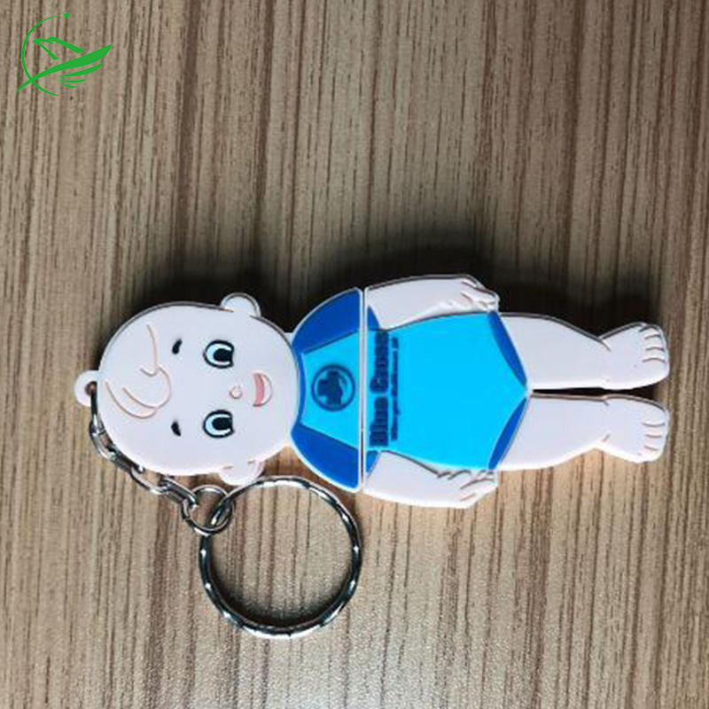 company promotional gift soft pvc rubber material customized logo rubber 64gb usb flash drive