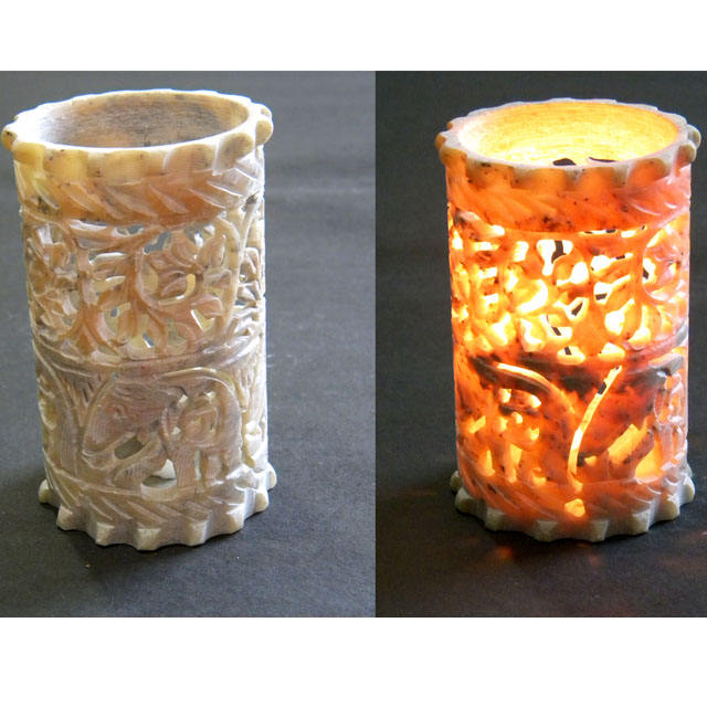 Candle Holder Wholesale Catholic Church Leaf Carving Multipurpose Votive T - Light Holder Candle Stand Incense Burner Wax Warmer