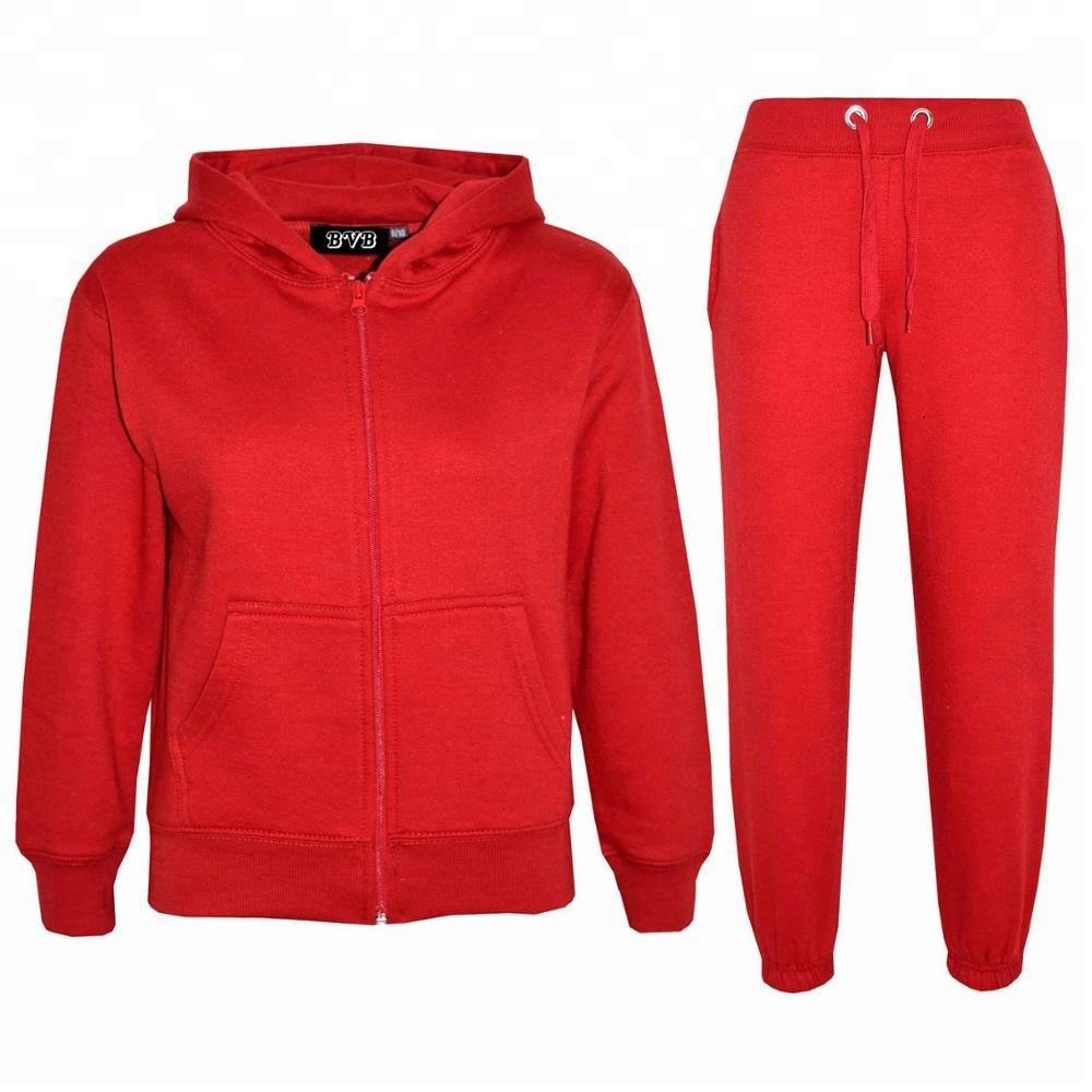 High quality fleece Training / Jogging / Walking fleece hooded Tracksuit