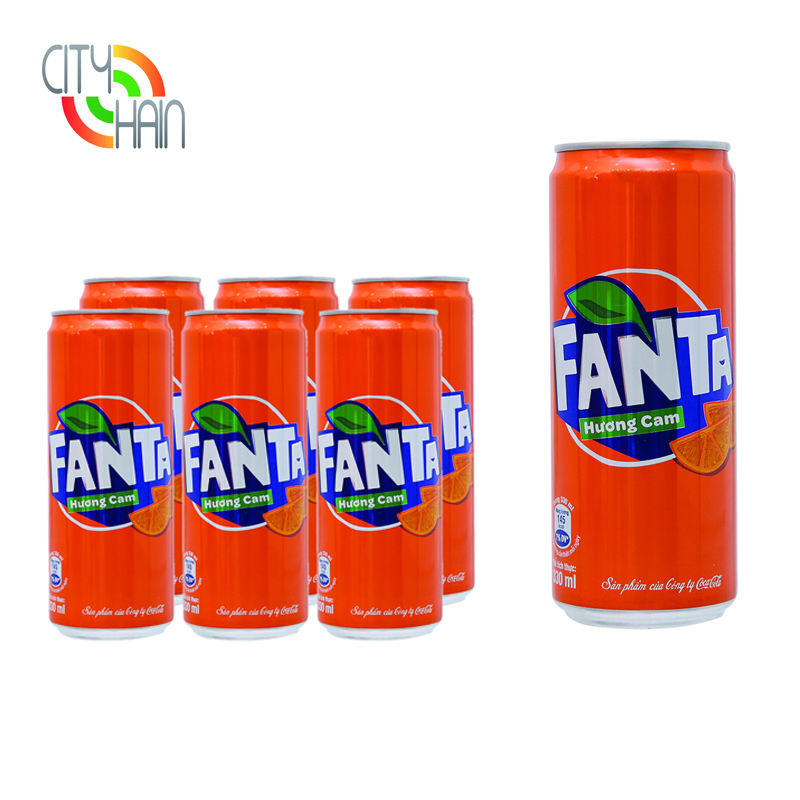Best Seller Trade Show Display High Quality Quick Delivery 330Ml Good Taste American Fanta Drinks