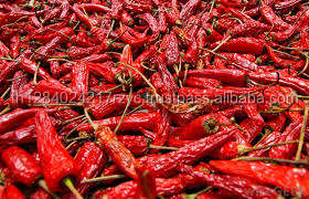Thai kering red hot chilli lada