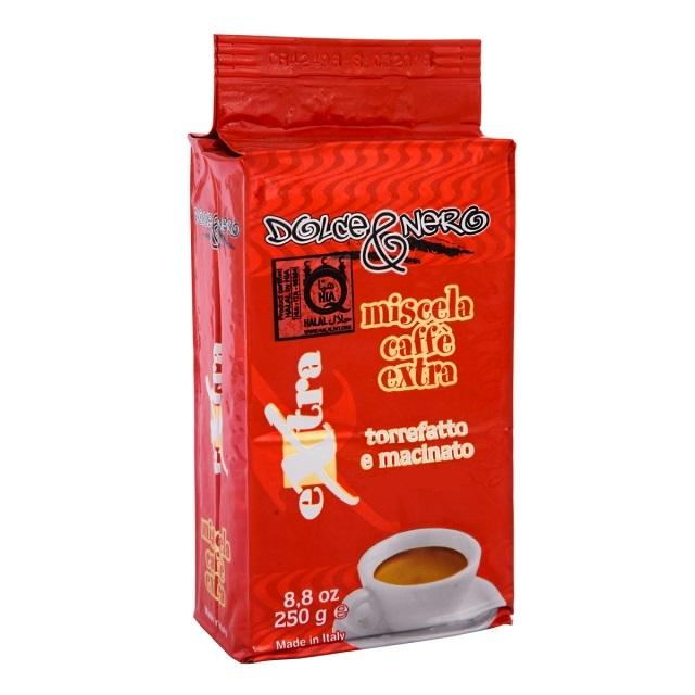 ITALIAN ESPRESSO HALAL GROUND COFFEE HALAL EXTRA 250 gr