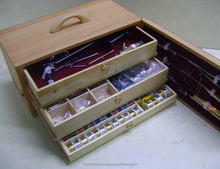 Splendid Fishing Fly Tying Kit in Box with Fly Tying Vise