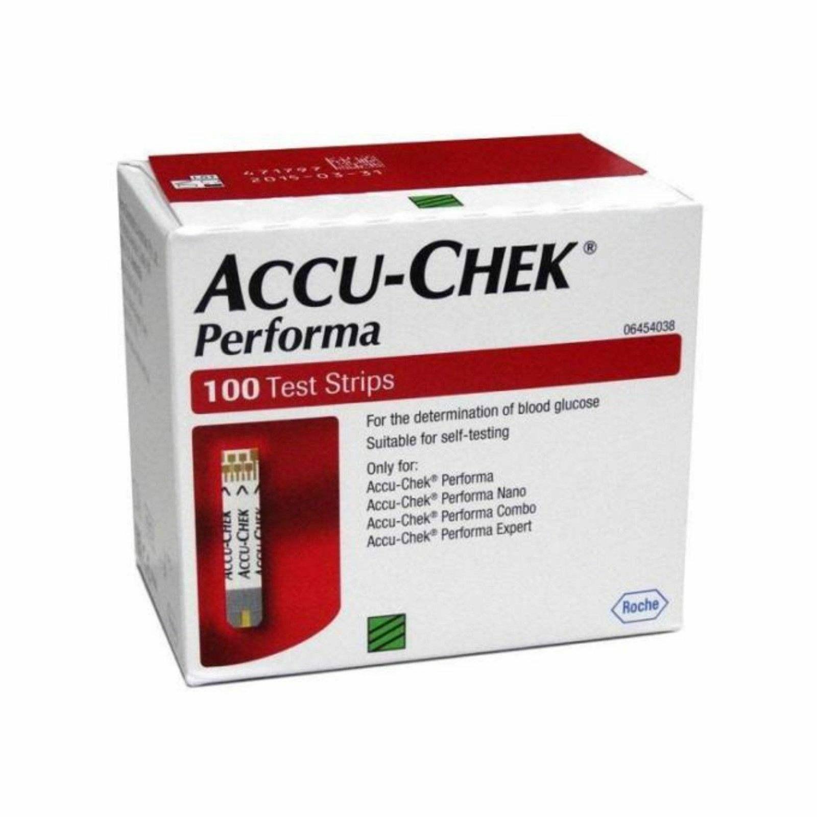 Accu Chek Diabetes Test Strips