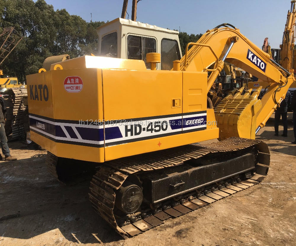 used kato HD 450 excavator in lowest price with high quality