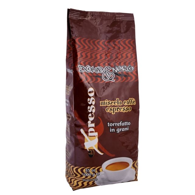 ITALIAN COFFEE BEANS 1 Kg.- ROASTED COFFEE EXPRESSO