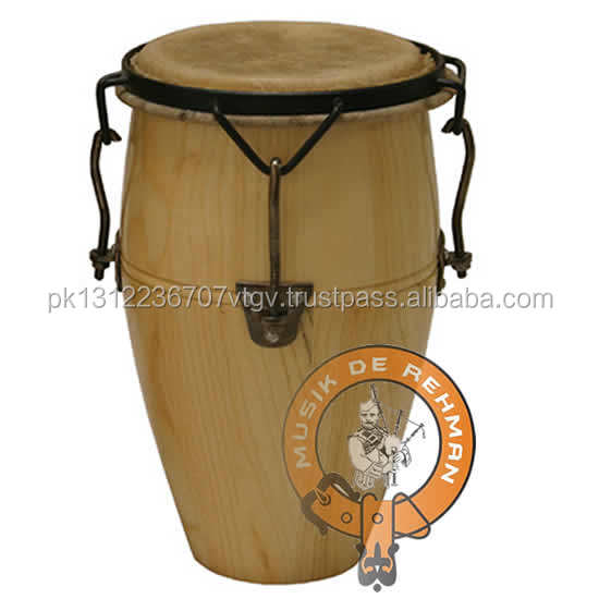 Percussion Wooden Professional Latin Conga Drum Set