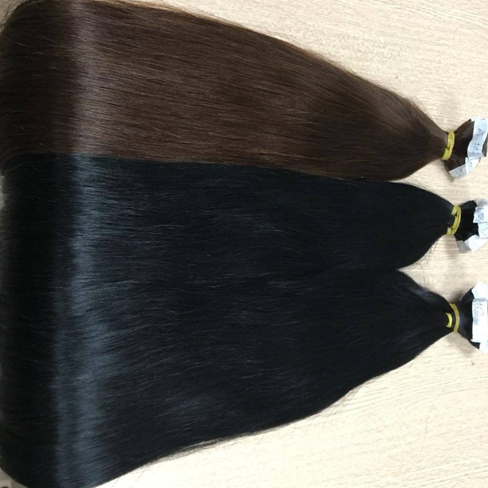 Factory Price Top Quality Raw Tape in Hair Natural Color Straight Hair