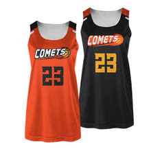 Latest version, high end, best price made in Vietnam, custom jersey basketball design orange