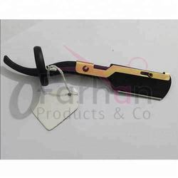 Barber Razor Straight Edge Barber U Ring Full Black 2018