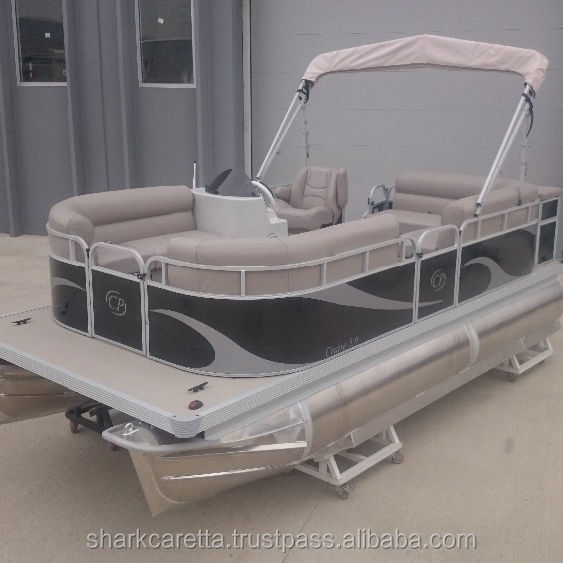 Fast Delivery Aluminum pontoon boat 5M SC5-CP Made in Turkey CE Approved
