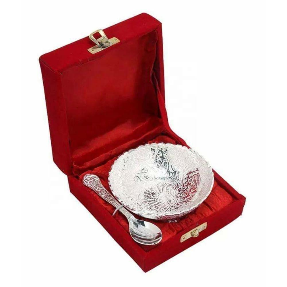 WEDDING GIFT SILVER PLATED BRASS MATERIAL GIFT