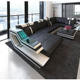 Professional china leather furniture modern european sofa made in China