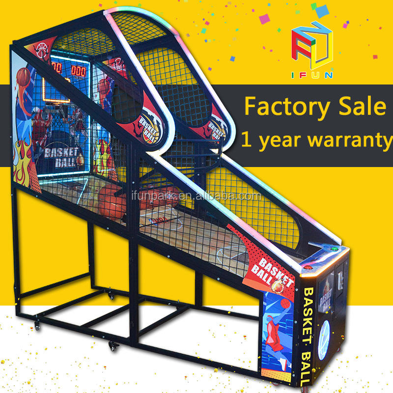Ifun Park Hot-sale Indoor Ball Shooting Street Basketball Arcade Game Machine