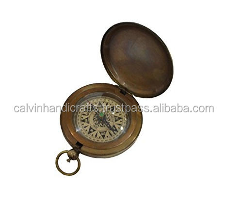 Compass Antique Replica Maritime Nautical Magnetic Compass Dollond London 1920 CHCOM354