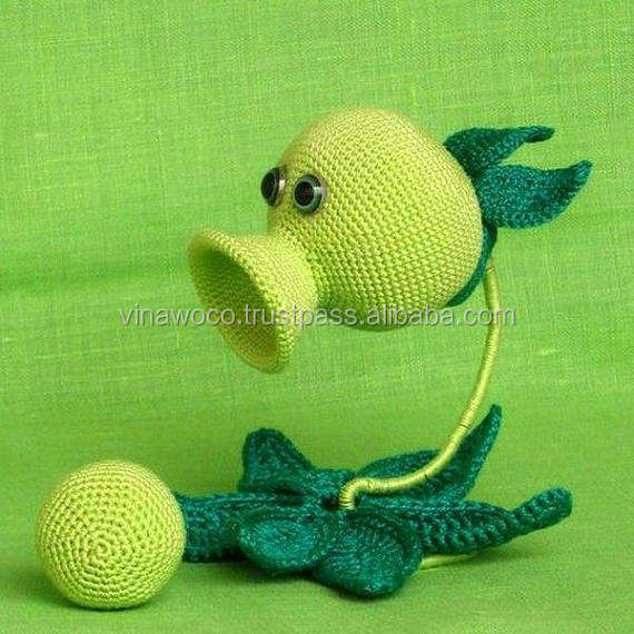 Crochet Tutorial - Peashooter - YouTube | 570x570