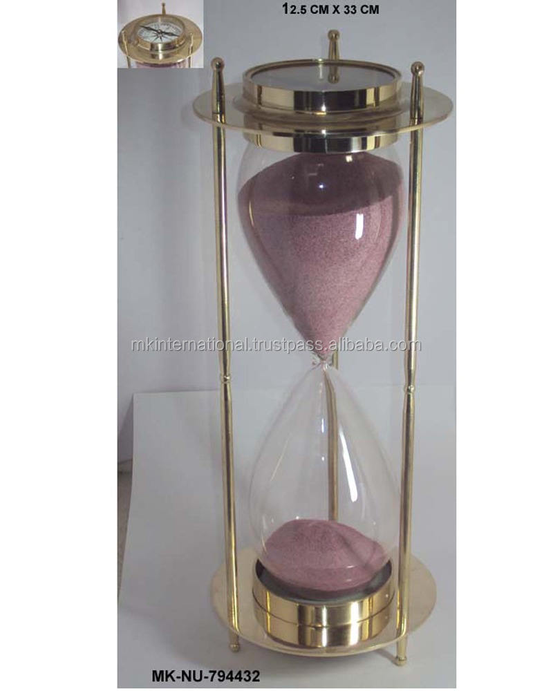 Brass Antique Sand Clock