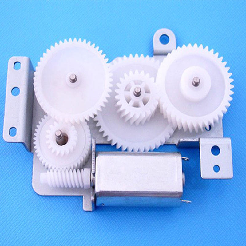 High quality factory supply new promotion PE plastic worm gear set nylon wear gear