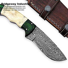 Damascus Handmade Hunting Knives