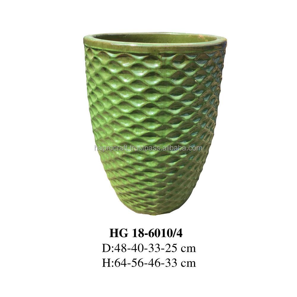 Jardín al aire libre/Tall cerámica macetas jardineras