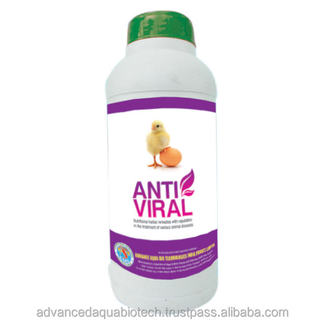 ANTI VIRAL-- Nutritional herbal remedies with reputation in the treatment of various animal diseases