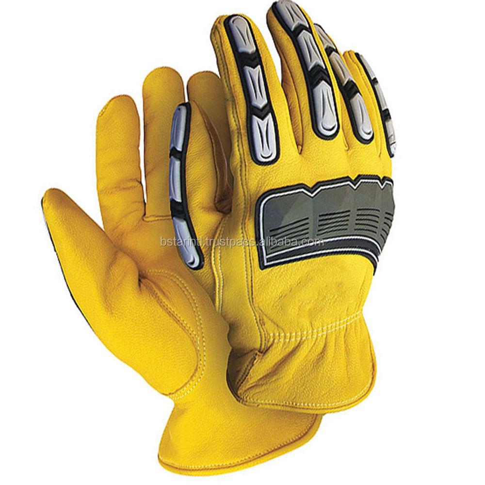 Wholesale High Quality TPR Mechanic Cut Resistant Impact Resistant Gloves