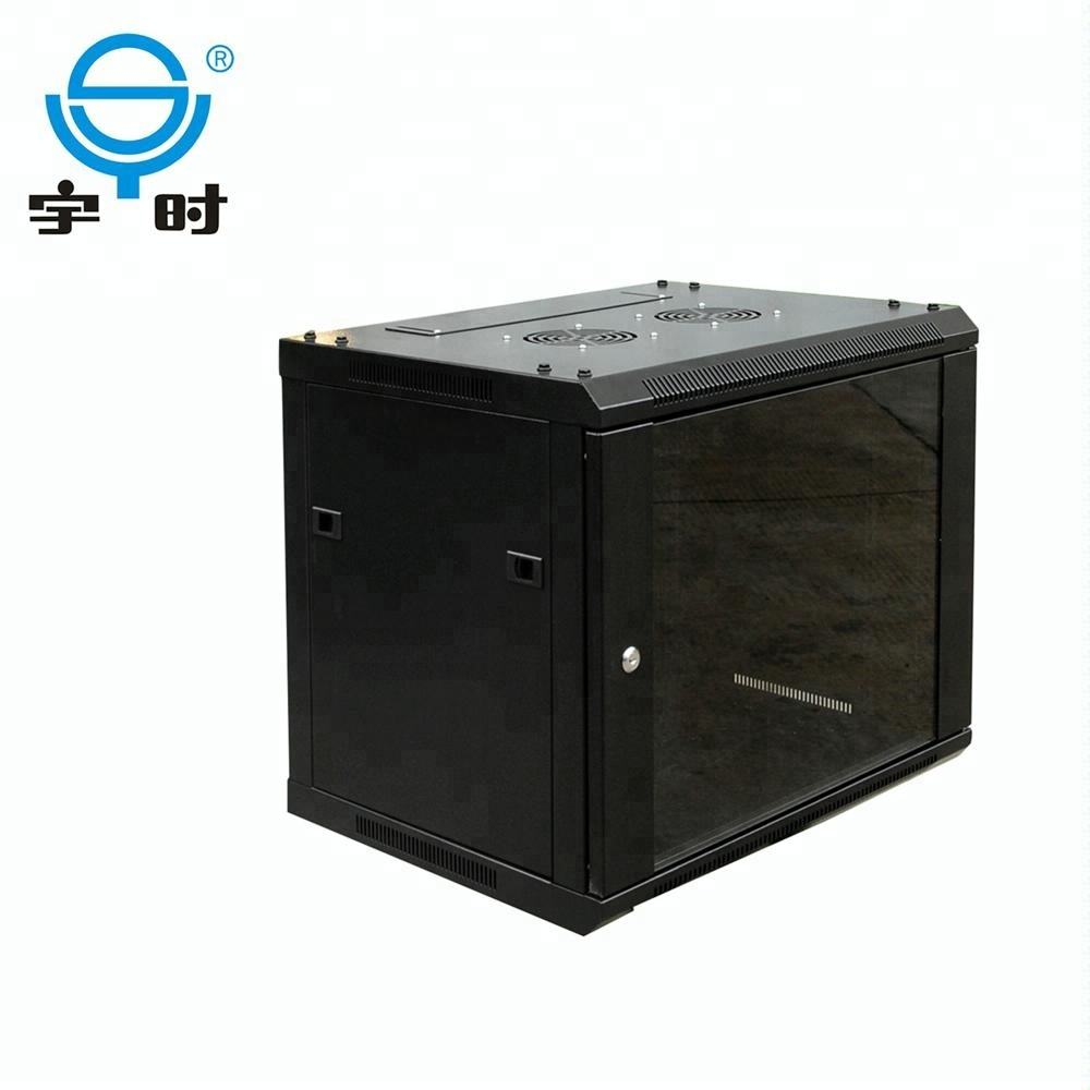 4U 6U 9U Dinding DDF Network Kabinet 6U Server Rack Case
