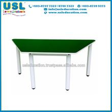 Trapezoid Table Classroom for Student and Kids Study