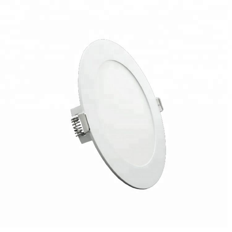 Screwless installation fixture round led crystal ceiling light