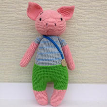 Pig baby doll, Stuffed toys, so cute for decorating home, handmade crochet