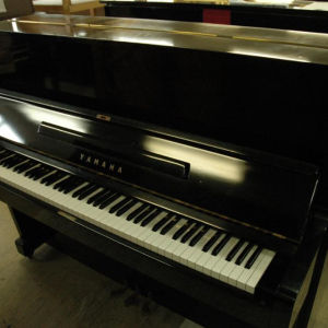 Used Japanese U1E YAMAHA acoustic piano upright from Grand Gallery