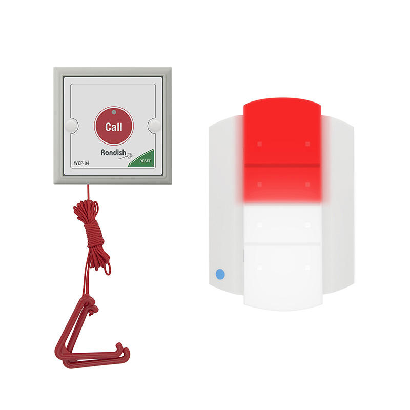 Cordless IP 65 Emergency Call Point For Disabled Toilet / Bathroom And Medical Bed Head Trunking
