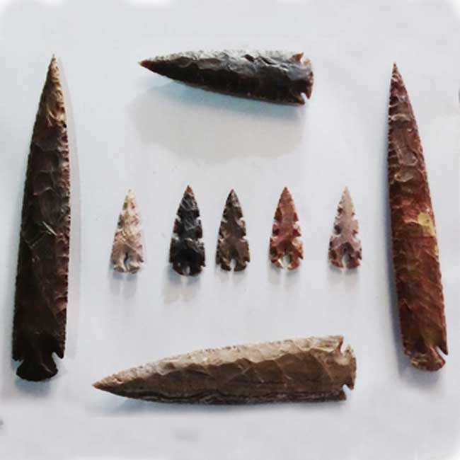 Arrowheads 10 inch- Wholesale